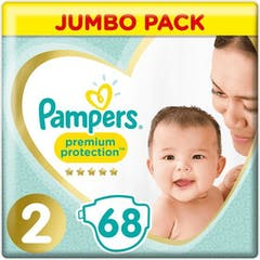 Pampers Premium Protection Maat 2 - 68 Luiers