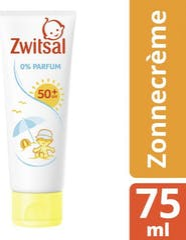 Zwitsal Zonnecrème SPF50+ 0% Parfum - 75ml