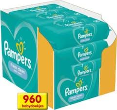 Pampers Fresh Clean Billendoekjes - 960