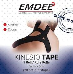 Emdee Kinesiology Tape Zwart