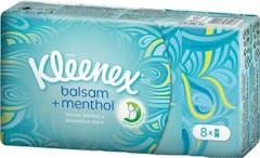 Kleenex Zakdoeken Balsem  Menthol 8 x 9