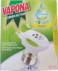 Vapona Geurverstuiver Green Action Muggenstekker