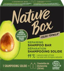 Nature Box Shampoo Bar 85 gram Avocado