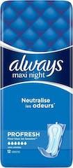 Always Maandverband Maxi Night 12 Stuks