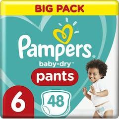 Pampers Baby Dry Nappy Pants Maat 6 - 48 luierbroekjes