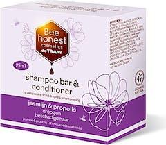 Bee Honest Shampoo Bar 2in1 80 gram Jasmijn