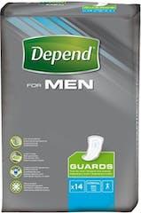 Depend For Men Guards - 14 Stuks