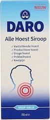 Daro Hoestsiroop Alle Hoest 150ml