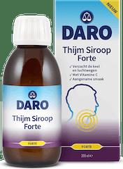 Daro Hoest Siroop  Thijm Forte 200 ml
