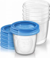 Philips Avent Via Beker Moedermelk 180 ml