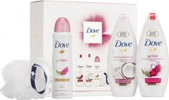 Dove Relaxing Beauty Trio Gift Set