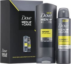 Dove Men+Care Sports Active Duo Gift Set