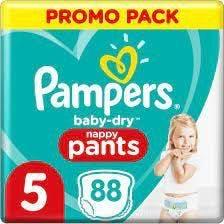 Pampers Baby Dry Pants Maat 5 - 88 Luierbroekjes