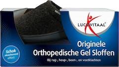 Lucovitaal Orthoped. Gel Slof 44/45 Zwa