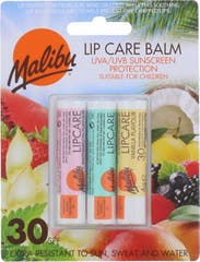 Malibu 3-pack SPF30 LippenBalsem