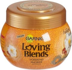 Garnier Loving Blends Haarmasker Argan 300ml Cameliaolie Subliem