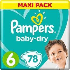 Pampers Baby Dry Maat 6 - 78 Luiers