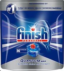 Finish Powerball Vaatwastabletten - Quantum Max 36 capsules