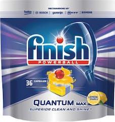 Finish Vaatwastabletten Quantum Max - Lemon 36 capsules