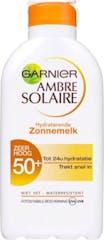Garnier Ambre Solaire Zonnebrand 200 ml Crème Hydrateren SPF 50+