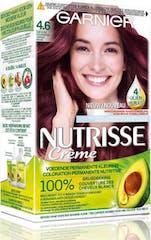 Garnier Nutrisse Crème Haarkleuring 4.6 Dieprood Middenbruin