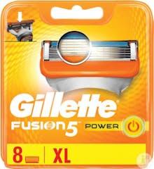 Gillette Fusion5 Power Scheermesjes 8 stuks