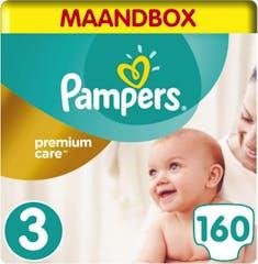 Pampers Premium Care Maat 3 - 160 Luiers Maandbox