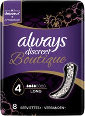 Always Discreet Boutique Verband Long 8 Stuks
