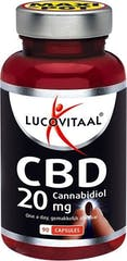 Lucovitaal  CBD Cannabidiol 20mg 90caps