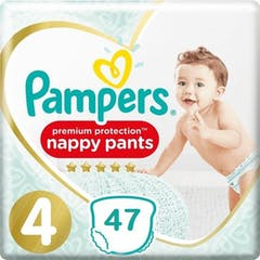 Pampers Premium Protection Pants Maat 4 - 47 Luierbroekjes