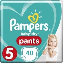 Pampers Baby Dry Pants Maat 5 - 40 Luierbroekjes