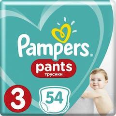 Pampers Baby Dry Pants Maat 3 - 54 Luierbroekjes