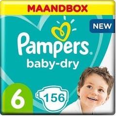 Pampers Baby Dry Maat 6 - 156 Luiers