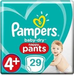 Pampers Baby Dry Pants maat 4+ - 29 Luierbroekjes