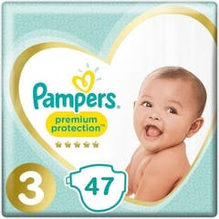 Pampers Premium Protection Maat 3 - 47 Luiers
