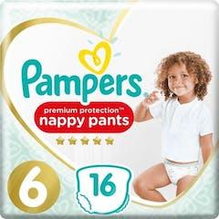 Pampers Premium Protection Pants Maat 6 - 16 Luierbroekjes