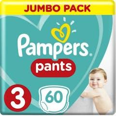 Pampers Baby Dry Pants Maat 3 - 60 Luierbroekjes