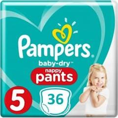 Pampers Baby Dry Pants Maat 5 - 36 Luierbroekjes