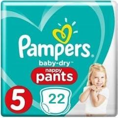 Pampers Baby Dry Pants Maat 5 - 22 Luierbroekjes