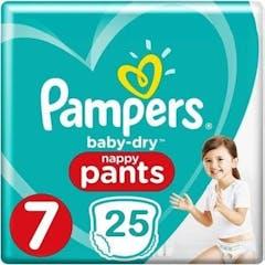 Pampers Baby Dry Pants Maat 7 - 25 Luierbroekjes