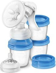 Philips Avent Borstkolf Handmatig Natural Set