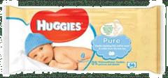 Huggies Pure - Babydoekjes - 56 doekjes - 6 pakken