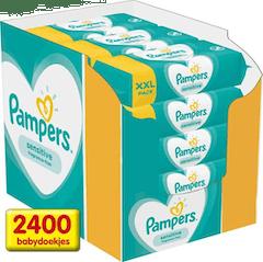 Pampers Sensitive Billendoekjes 2400 stuks