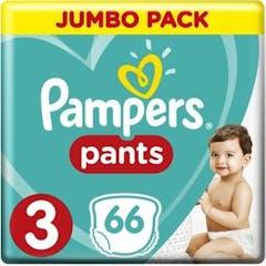 Pampers Baby Dry Pants Maat 3 - 66 Luierbroekjes