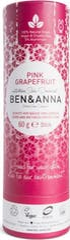 Ben & Anna Deodorant 60 gram Push Up Pink Grapefruit