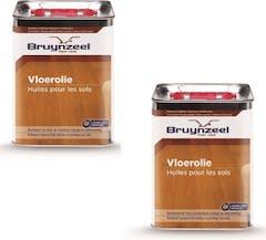 Bruynzeel Vloerolie Bruwax 2x2.5 liter Voordeelverpakking