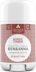 Ben & Anna Deodorant Stick 60 gram Nordic Timber