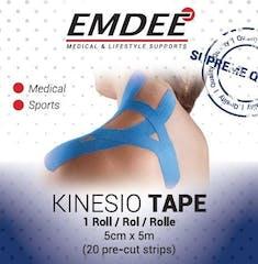 Emdee Kinesiology Tape Blauw