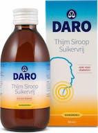 Daro Siroop 200 ml Thijm Suikervrij