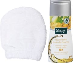 Kneipp Doucheolie + Scrubwant Cadeauset
